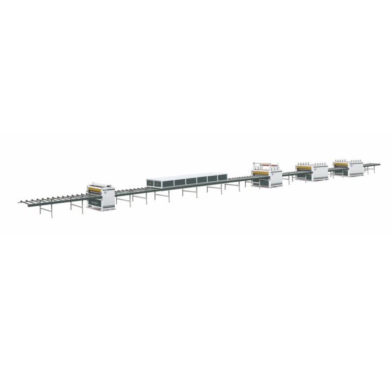 TZ1350F 38m Paper PVC Sticking Production Line