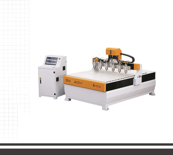 SOLID WOOD CNC Router R-1618*6