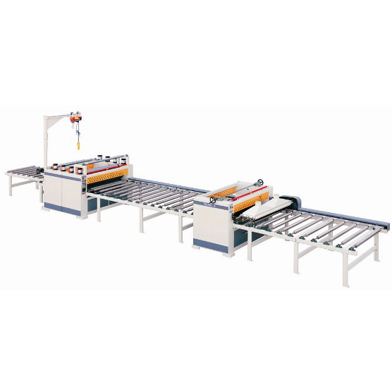 TZ1350C 11m Paper PVC Sticking Production Line